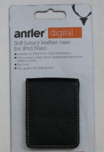 Antler iPod Nano leather case