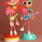 Dancing guitarists
