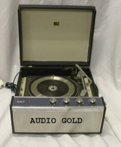 HMV record player