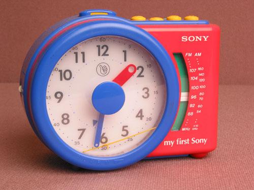 My First Sony Alarm Clock ICF-A6500