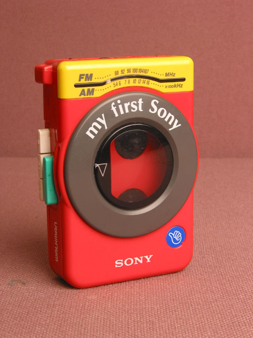 My First Sony Walkman Radio Casette Player WM-F3030
