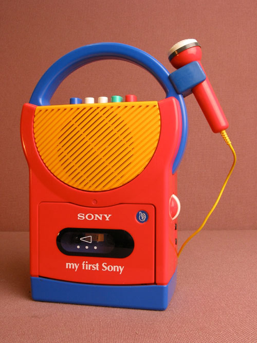 My First Sony Casette Player TCM-4500