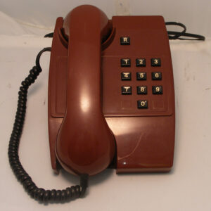 BT Maroon Phone