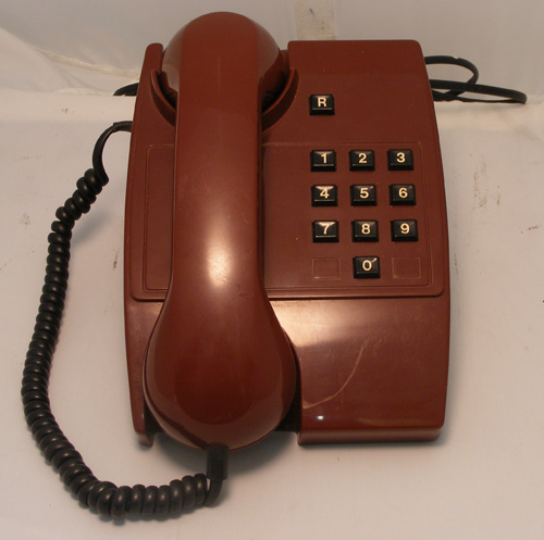 BT Maroon Phone