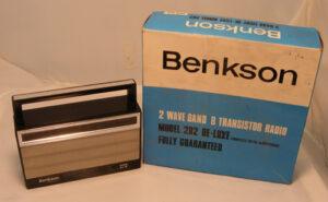 Benkson Model 202 De-Luxe