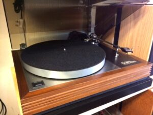 Linn Sondek LP12 with Grace tonearm