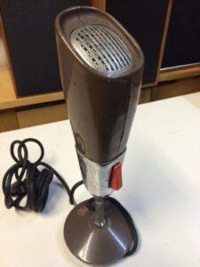 PYE announcer microphone