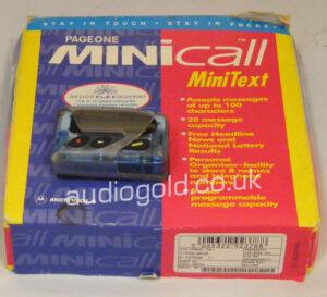 Motorolla Mini Call Pager