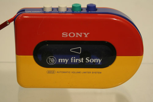 My First Sony Cassette