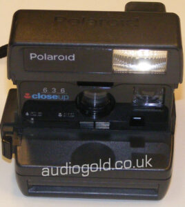 Polaroid 636 Close up
