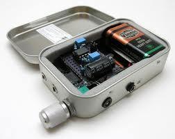 Altoids CMoy Portable Headphone Amplifier