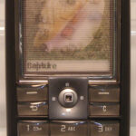 Sony Ericsson display model