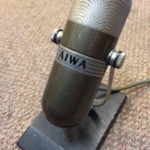 Aiwa broadcast mic