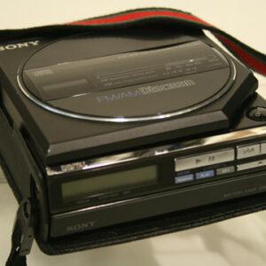 Sony fm/am discman
