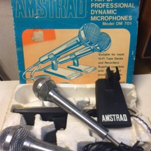 Amstrad dynamic mics pair