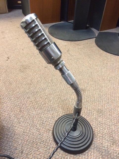 Gooseneck mic