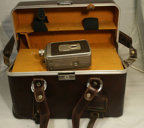 Kodak brownie movie maker and case
