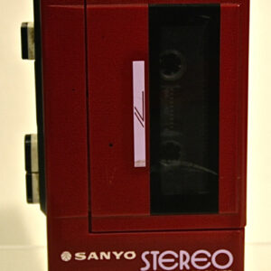 Sanyo Cassette walkman