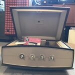 PYE Stereophonic Projection System Type 1005 1960's Vintage Record Player